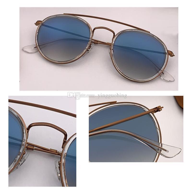 2021 Top Venda Fábrica Nova Moda Óculos de Sol Homens Mulheres Retro Círculo Rodado Sunglass Brand Design UV400 51mm óculos de sol feminino oculos gafas