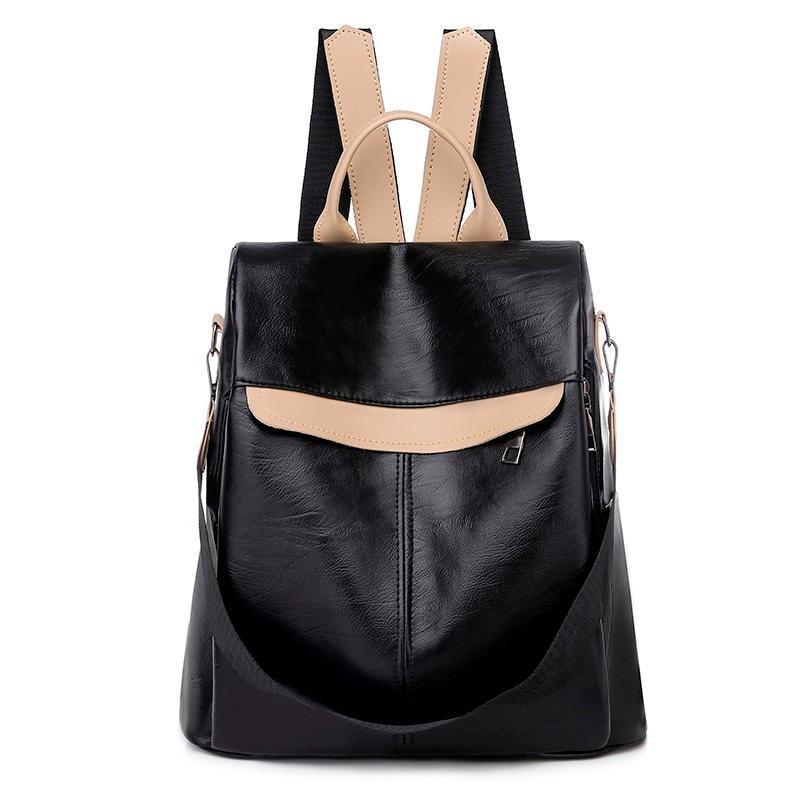 2020 Damen Rucksäcke Rucksäcke High Vintage Girl Girls Dos Frauen Taschen Eine Schule Bagpack Qualität adrette Stil Leder für Sack Guijc
