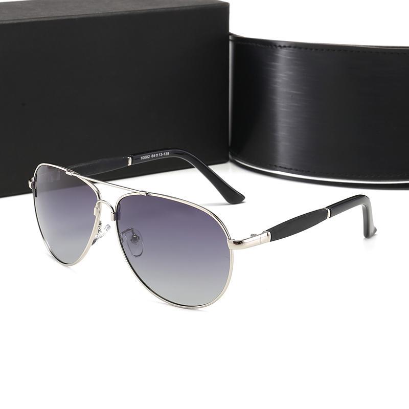Yüksek Kalite Marka Güneş Gözlükleri Luxurys Kanıt Güneş Gözlüğü Tasarımcı Gözlük Gözlük Erkek Bayan Cilalı Siyah Güneş Gözlüğü Kutusu Ile Gel