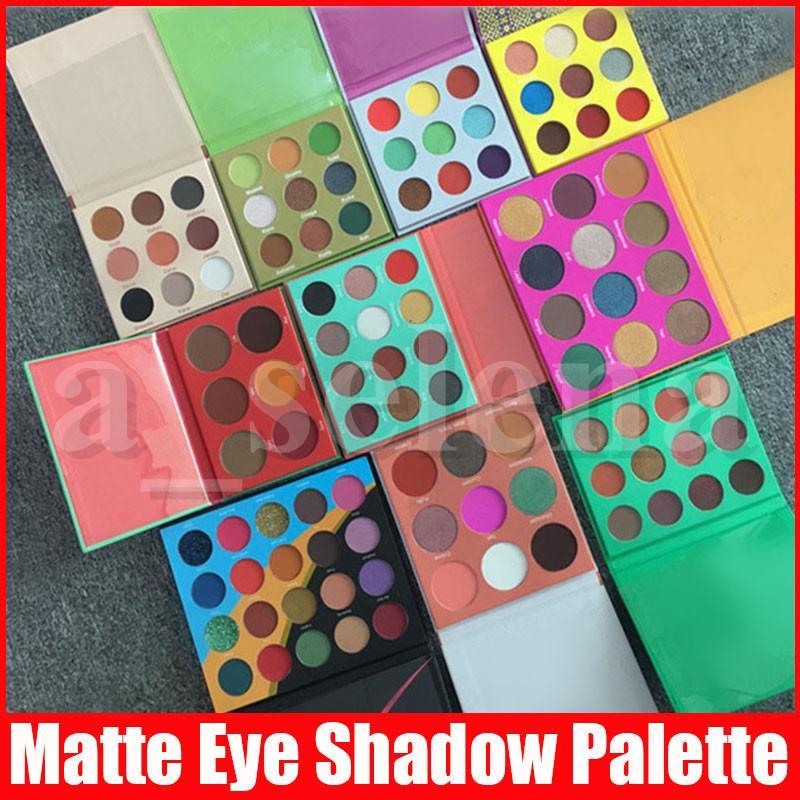 Viso Trucco 6color 9color 12color 16 colori arrossisce gamma di colori dell'ombretto di luccichio opaco Eye Shadow Palette regalo di San Valentino