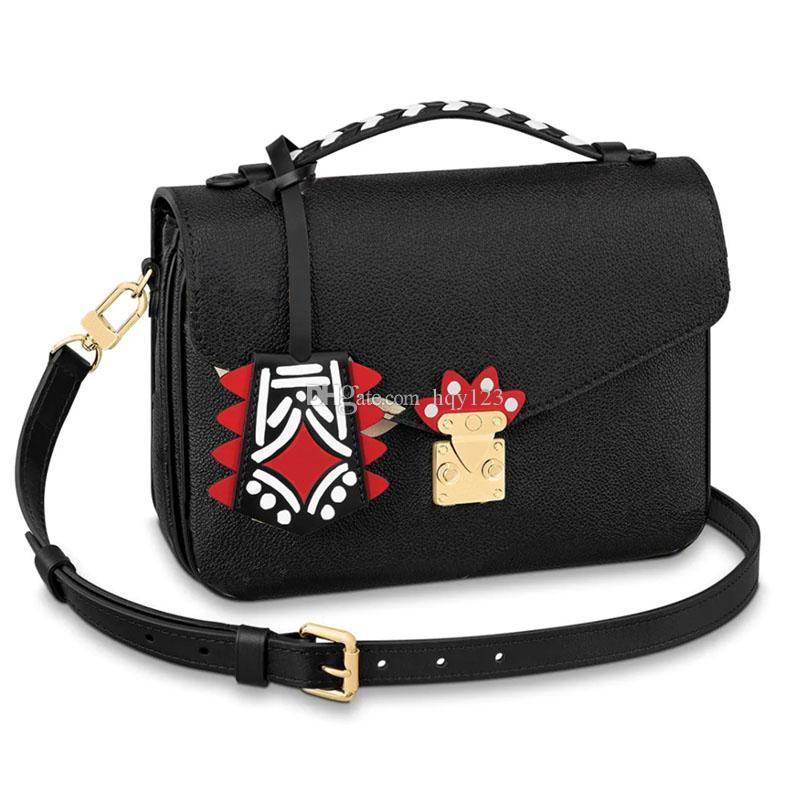 وصول المرأة الجديدة الساخنة أكياس الأزياء الفاخرة حقائب الكتف حقائب اليد امرأة حجم 25x19x7 سم نموذج 45384