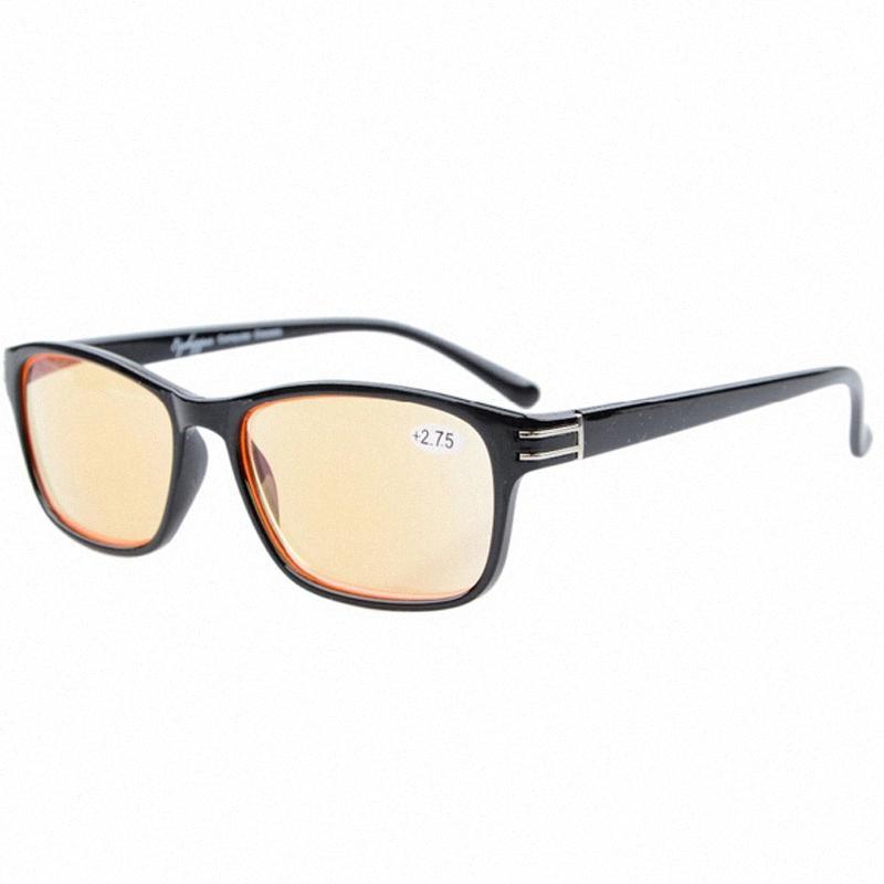 الجملة Eyekepper الأشعة فوق البنفسجية حماية، ومكافحة وهج، ومكافحة الأشعة الزرقاء الكمبيوتر نظارات القراءة القراء الرجال +0.00 +4.00 إعادة عدسة النظارات Replacem T2dF #