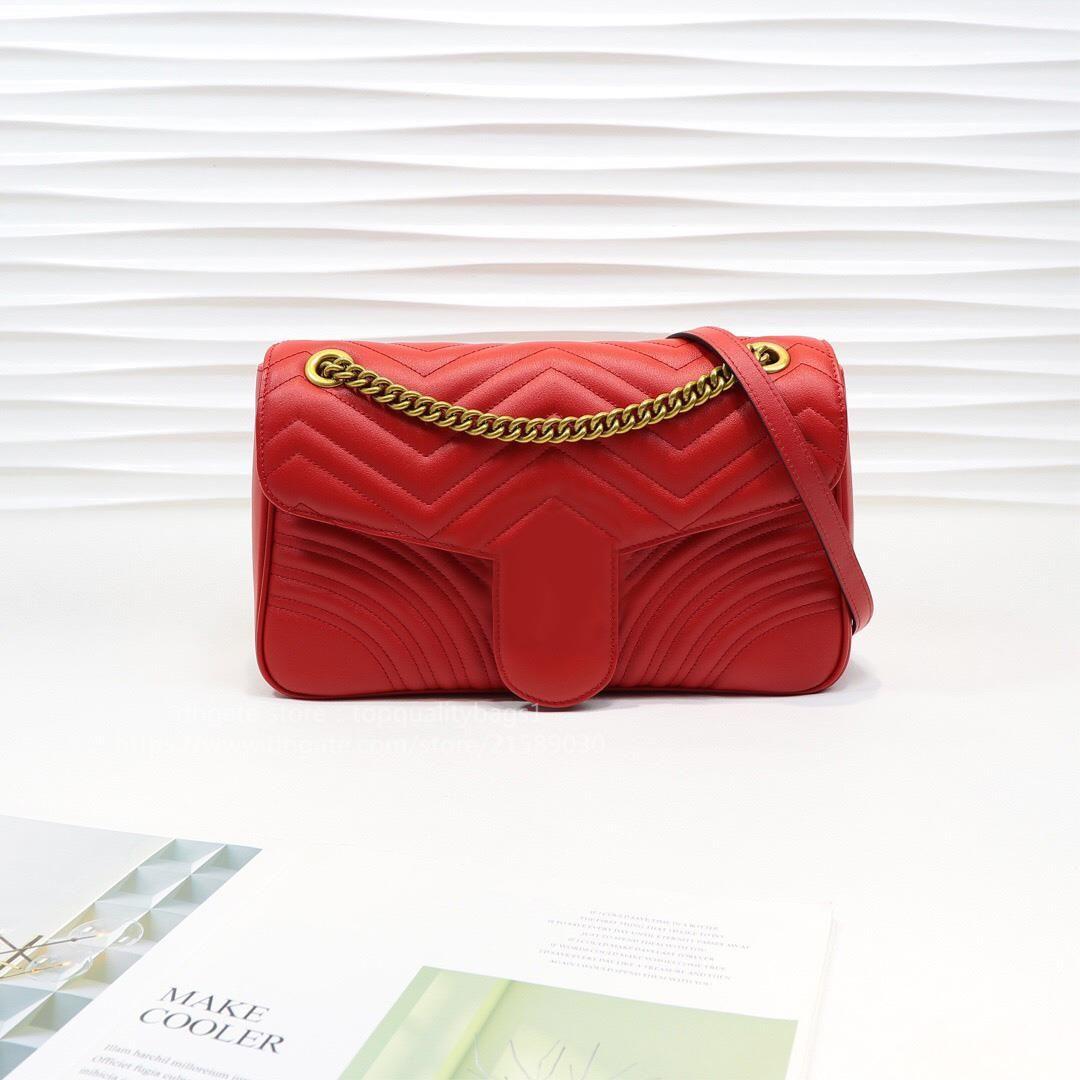 BDTR Classic Quality Marmont Free 2021 Giob Bag Bag Luxurys Fashion Hombro Genuino Cadena Top Vendido Mujeres Diseñadores Mujeres Key SH LE JUQV