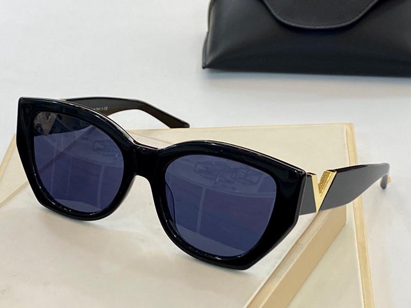 3038 Gafas de sol de moda, marco óvalo de las mujeres Nuevas gafas de sol populares, gafas protectoras de estilo simple y atmosférico UV400