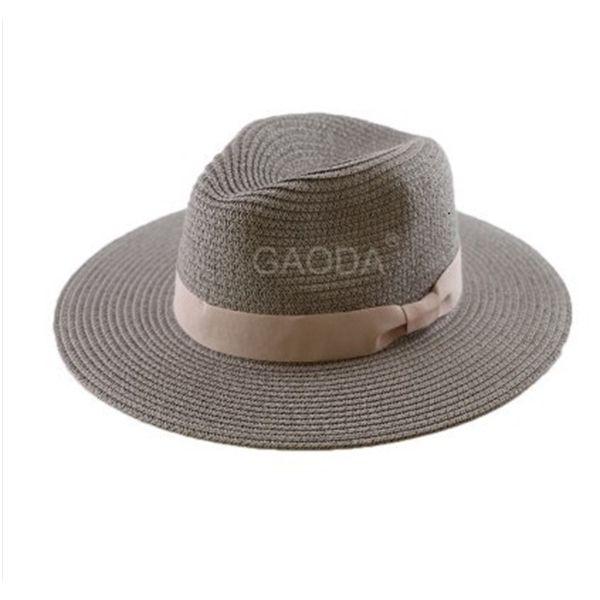 Big Head Man Large Size Panama Hat Lady Beach Sun Cap Male Fedora Hat Men Plus Size Straw Hat 55-57cm 58-59cm 60-62cm 62-64cm C0123