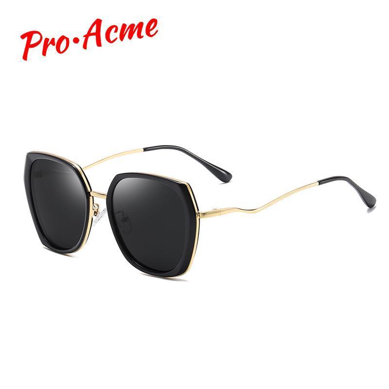 Pro Acme 2020 роскошные квадратные солнцезащитные очки женщин поляризованные негабаритные градиентные солнцезащитные оттенки для женщин Gafas de sol pc1347