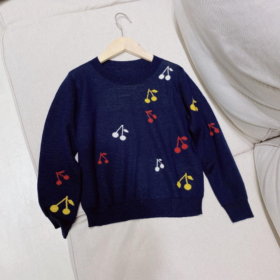 Sweet Kids girls Sweater 2020 Winter Fashion Baby Pullover Clothes Children Sweater