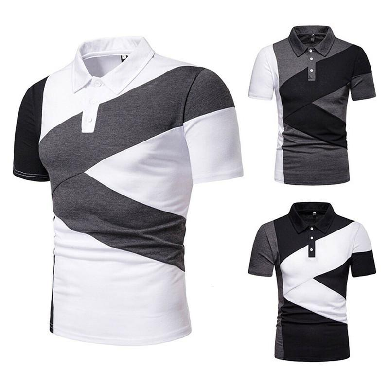 2019 nuove camicie da uomo slim fit magliette a manica corta Golf T-Top TEE TECK ASCESSIONALE Abbigliamento casual Abbigliamento casual