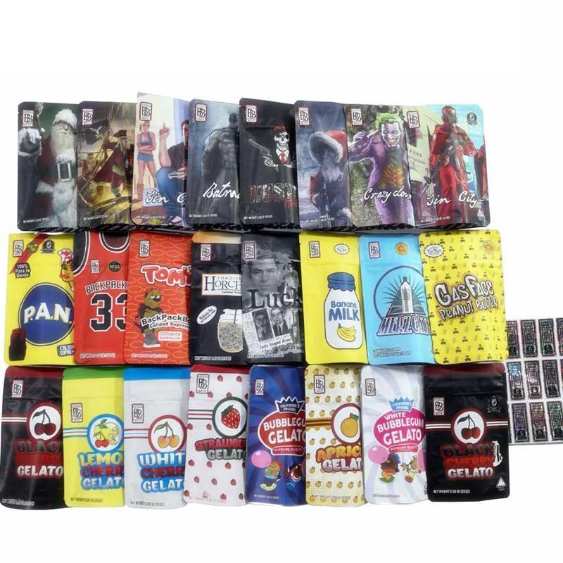 3,5g Rucksack Boyz 33 Tasche Gelato Milkpfanne Tomyz Bags Backpackboyz mit Hologramm Aufkleber Kinderfest BB Packung DHL frei