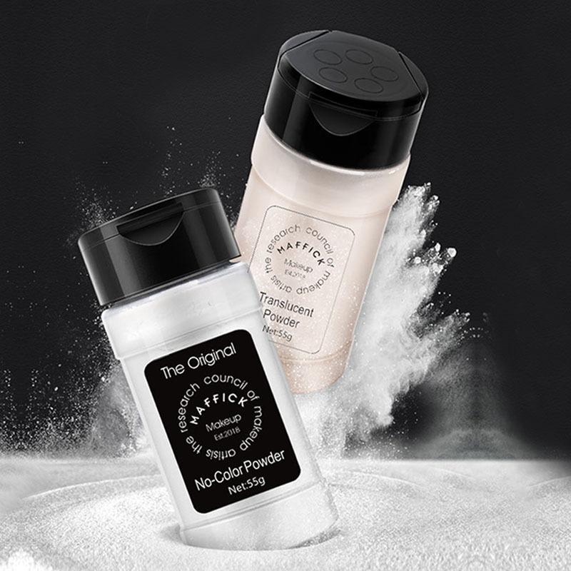 Brighten Concealer Waterproof Cosmetic Oil Control Multi-function Casement Baking Loose Powder Colorless Honey Pepper Powder sweat proof