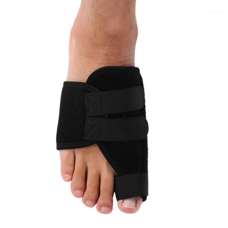 دعم الكاحل اليسار / اليمين 1PC العظام اصبع القدم الورم مستقيم حامي فالجوس مصحح الشريط مناسبة للتصحيح