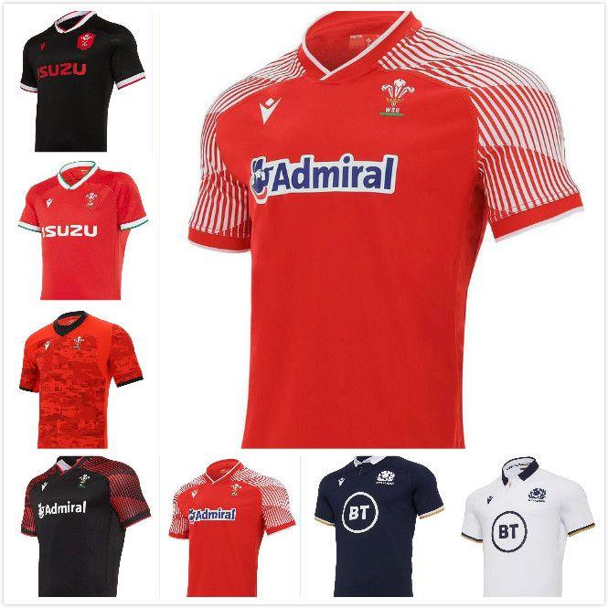2020 2021 Galler İskoçya Rugby Jersey 20 21 Eve Dight Galce Boyutu S-5XL İskoç Gömlek Maillot Camiseta Maglia