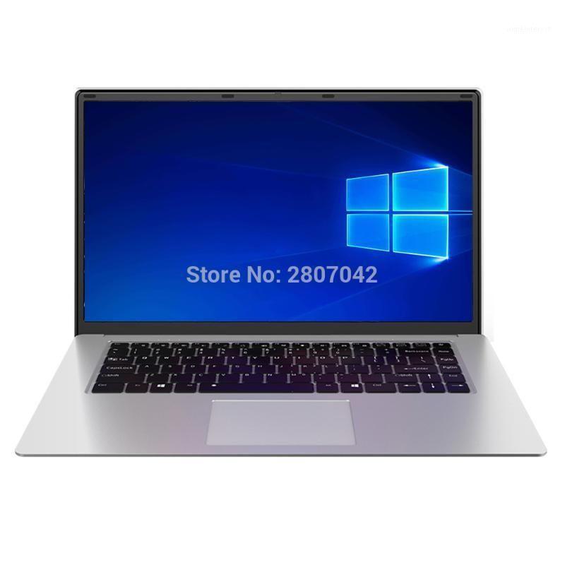 Ordinateurs portables 2021 15.6 pouces Étudiant Ordinateur d'ordinateur portable Intel J3455 Quad Core 8GB RAM 128GB 256GB 512GB Notebook SSD Ultrabook IPS 1920x1080 netbook1