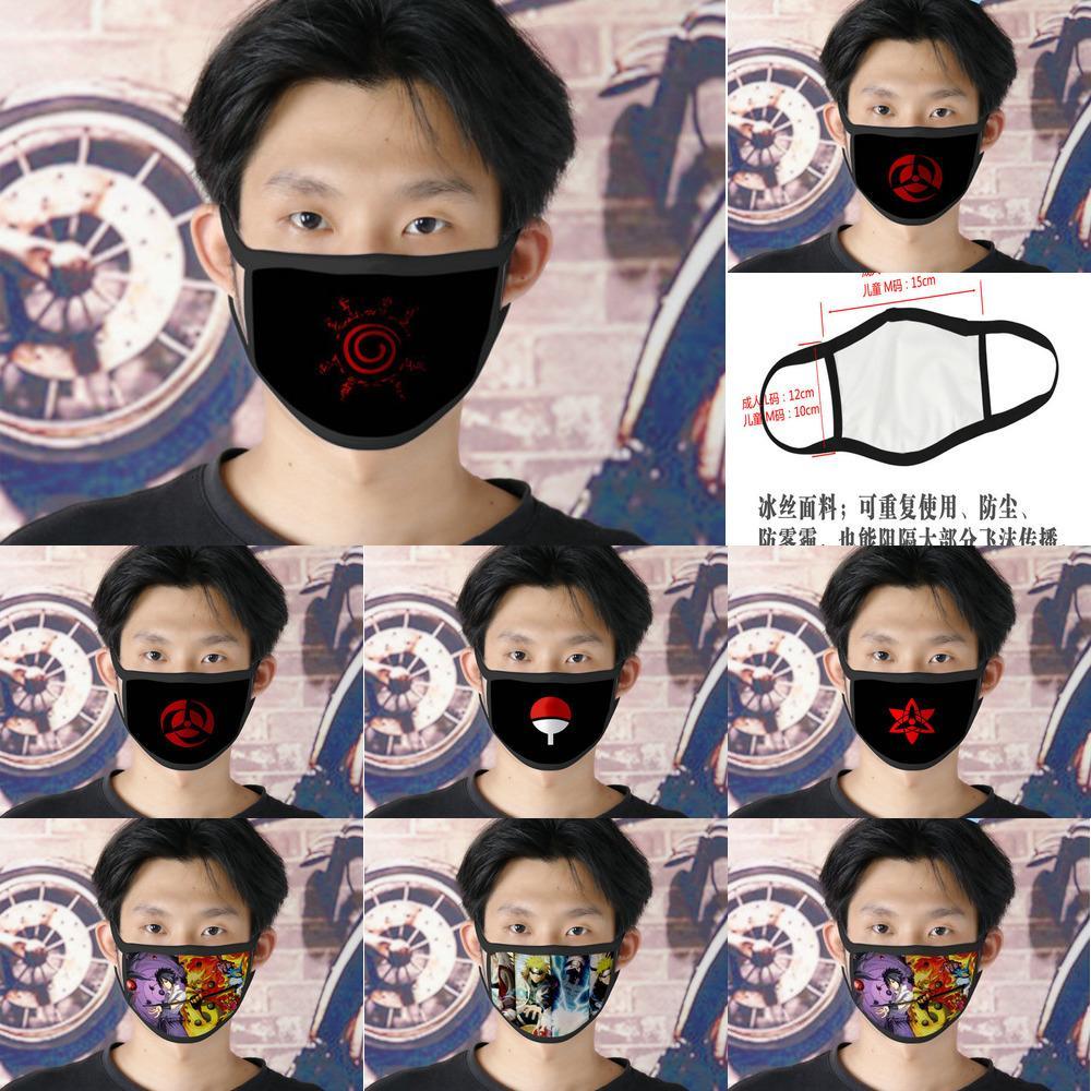 Reutilizável Ao Naruto Cubrebocas Designer Tapabocas for Children Cartoon Face Máscara 02 Hairclippers2011 Tstmf