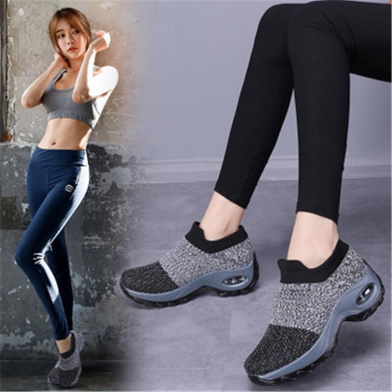 2021 Neue Frauen können weiche Dämpfung gehen Weiche Rutschen in Schuhe Reisebandbilanzen Stretch Light Socken 3WYG