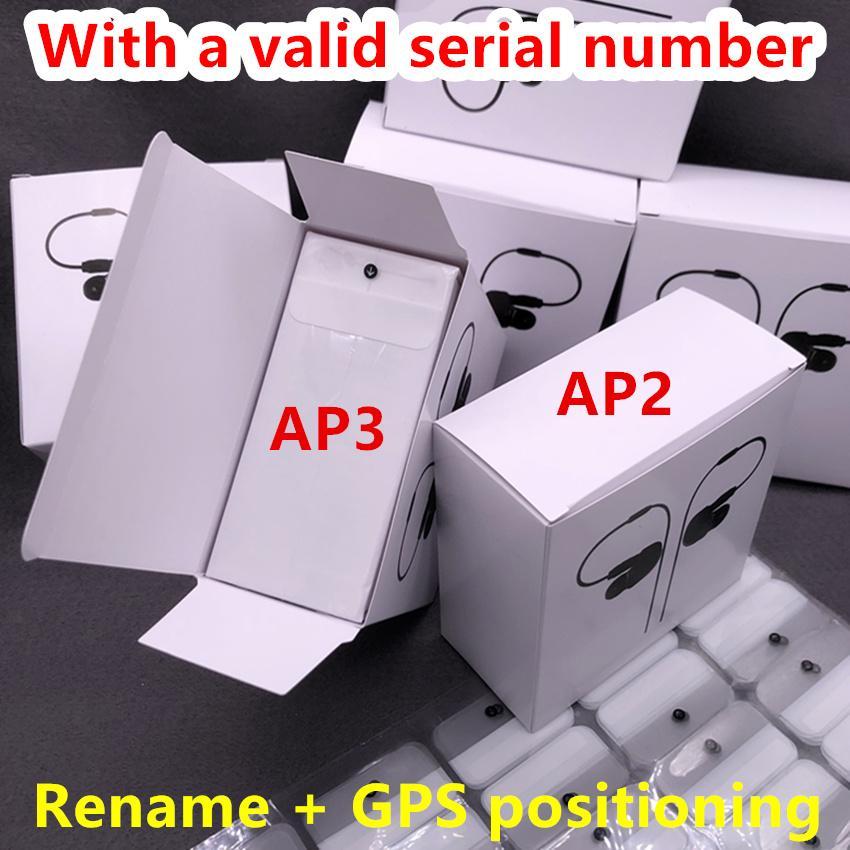 Hava Gen 3 AP3 H1 Çip Şeffaflık Metal Menteşe Kablosuz Şarj Bluetooth Kulaklıklar PK Pods 2 AP Pro AP2 W1 Kulakiçi 2. Nesil