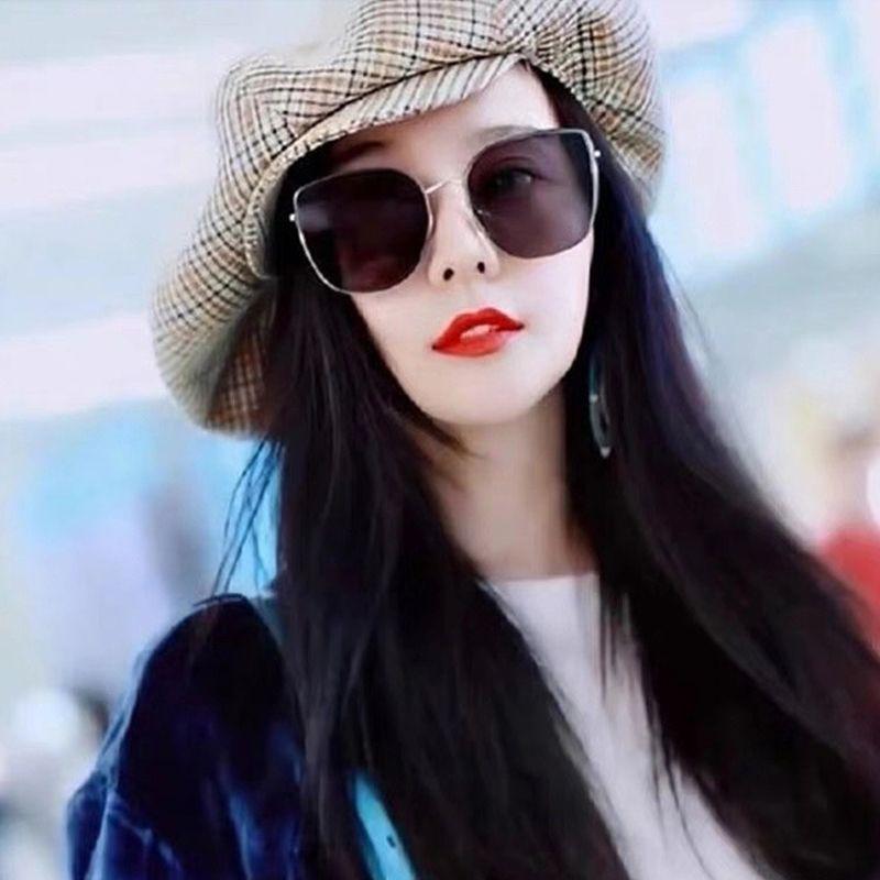 BLING With GM Quality fashion women Sunglasses for Case square frame men 2020 Polarized High glasses brand metal Mflvi