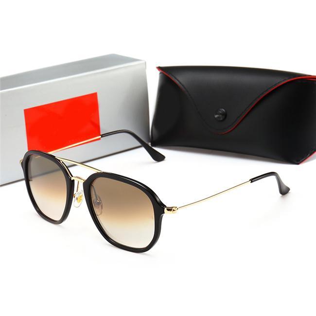 Горячая распродажа мода круглые солнцезащитные очки для мужчин металлические солнцезащитные очки классические старинные солнцезащитные очки BDHJK