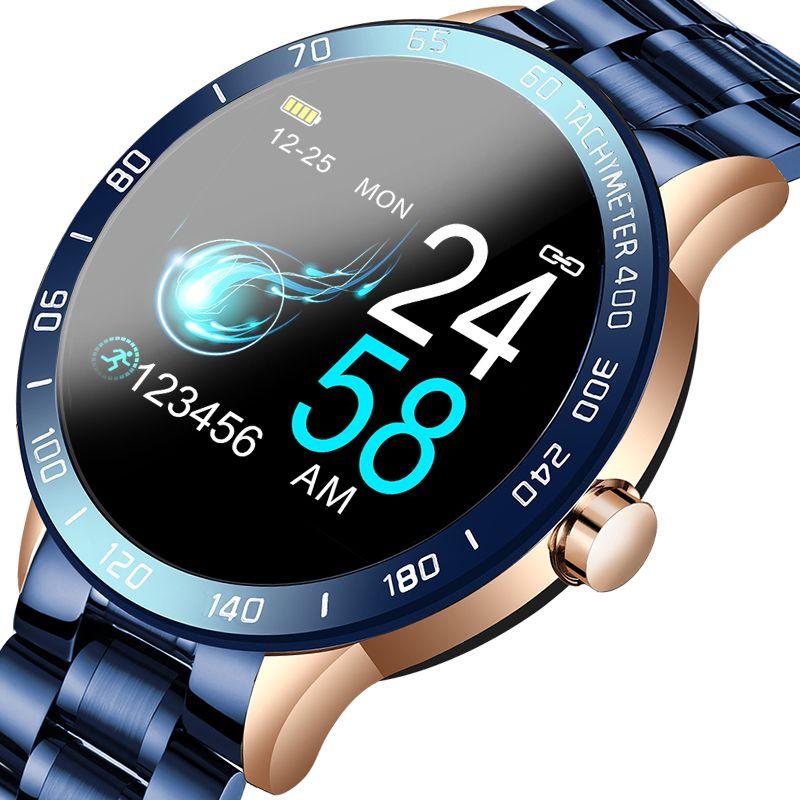 2020 Nouvelle montre intelligente Heart Screen Tarif arrière Moniteur Health Regarder la tension artérielle Traiter Tracker Watch Sport avec boîte-cadeau