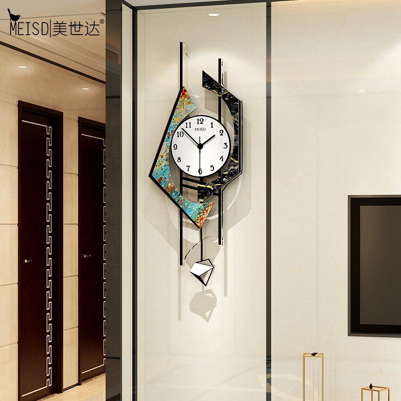 Meisd Quality Acrylic Montre Pendule Horloges murales rétro Tableaux d'art mural Accueil Décor Vintage silencieux Quartz Horloge Livraison Gratuite LJ201204