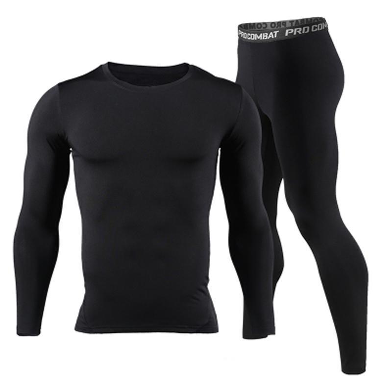 Long Johns Inverno Underwear Thermal Sets Homens Marca Quick Seco Anti-Microbial Estiramento Homens Underwear Homens Underwear Masculino Primavera Quente 201124