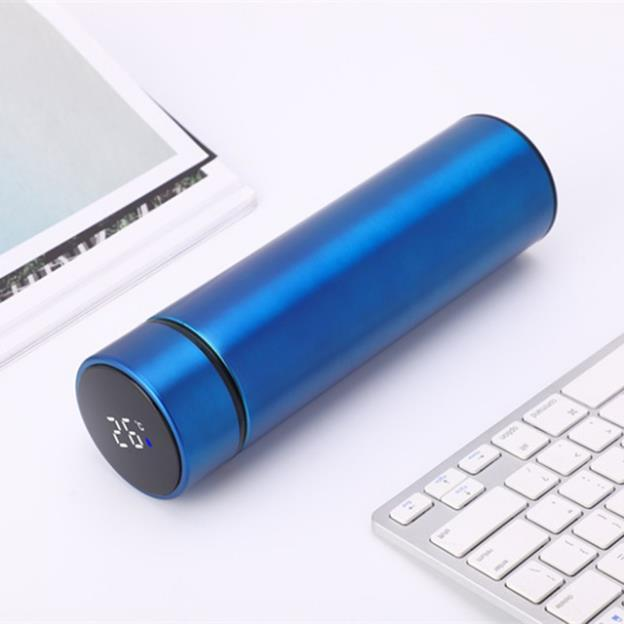 Fashionable 304 stainless steel vacuum flask, smart touch screen display temperature cup, student water cup, business gift cup 666