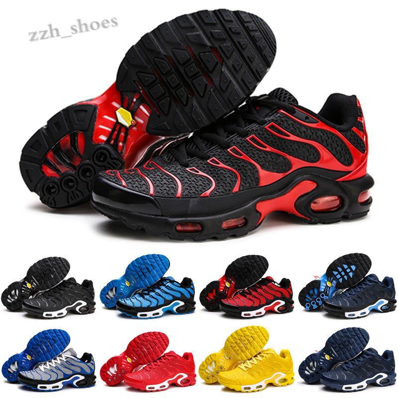 Nike Air VaporMax TN Erkek ayakkabı TN artı üçlü siyah beyaz oreo metalik paraşüt gradiente kırmızı psişik mavi sneakers erkek nefes sneakers pr07