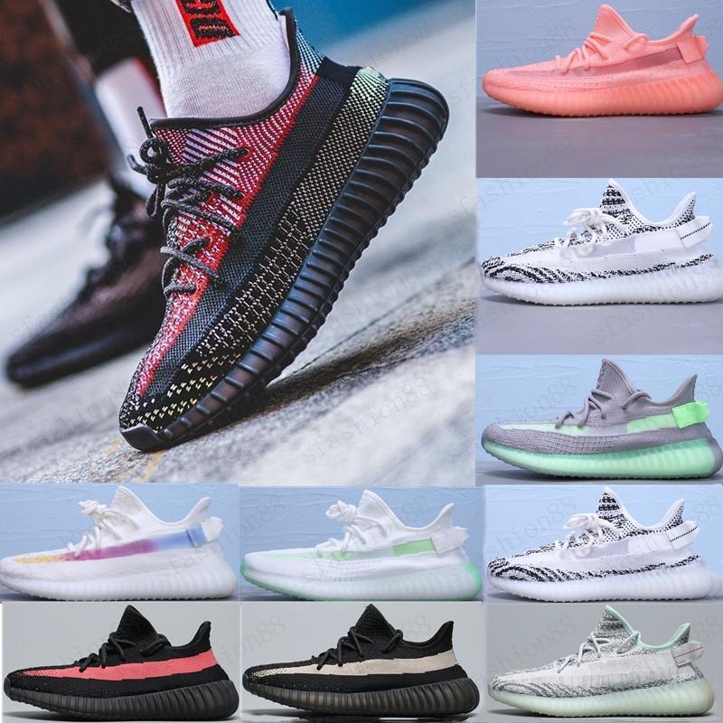 2021 Top Quality Hot STICIC SHOESS Novo Israfil Cinder Deserto Sábio Terra Cauda Luz Zebra Mulheres Homens Treinadores Sneakers