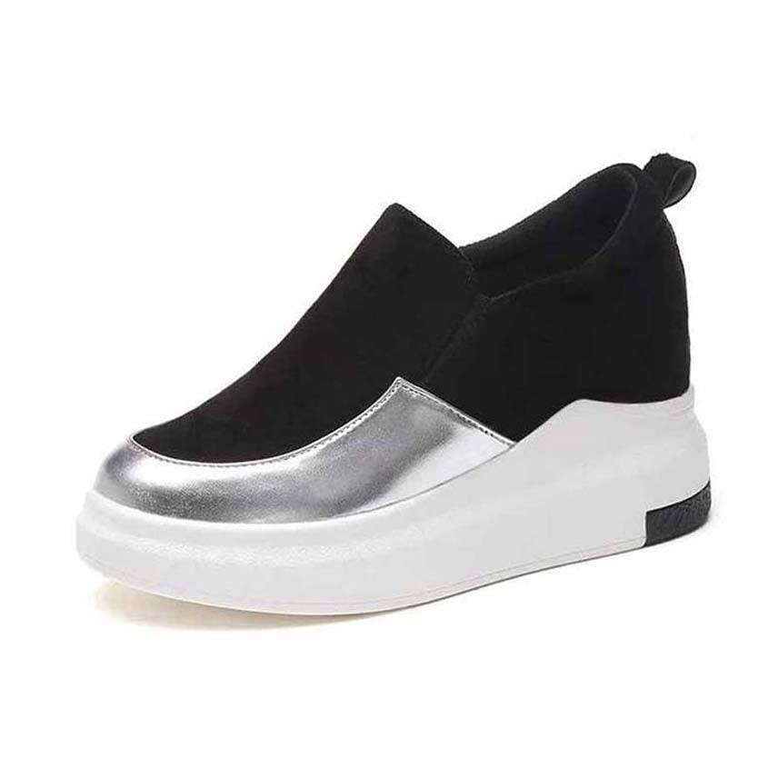 scarpe da donna Classics donne della piattaforma Trainer Comfort casual Calzature Sneaker di svago delle donne Scarpe con la zeppa Chaussures formatori P30