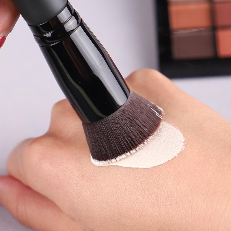 المعادن الجديدة الكمال فرشاة الوجه متعددة الأغراض فرشاة الأساس السائل بريميوم الوجه ماكياج فرشاة الوجه مؤسسة أداة HWE4645
