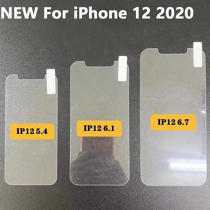 Pantalla de cristal templado 9H premium película del protector para el iphone Mini 12 11 12 11 Pro máximo XR XS MAX 6 7 8 PLUS