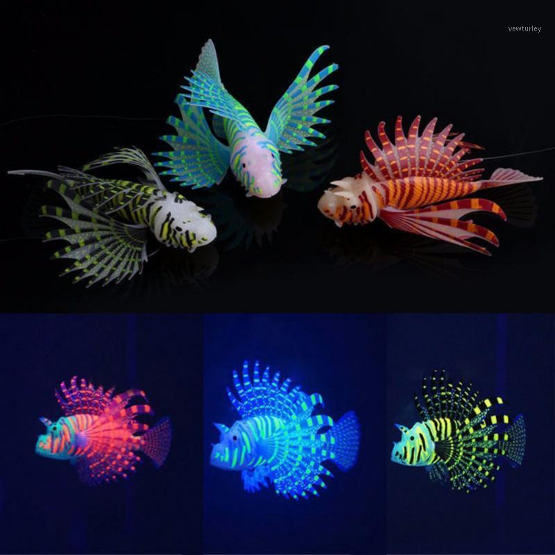 Decorations Artificial Aquarium Fish Is Made Of High-Quality Silicone Material Light Simulation Animal Jewelry Decoration1