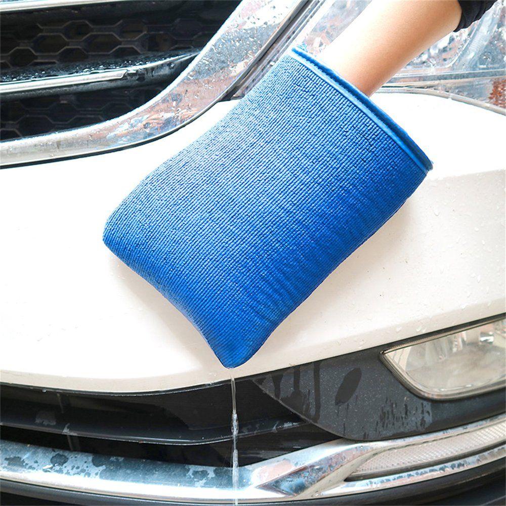 Free Shipping Care Clean Nanoscale Grinding Mud Washing Gloves Microfiber No Scratch Mitt Wash Decontamination Cloth for Car Polishing