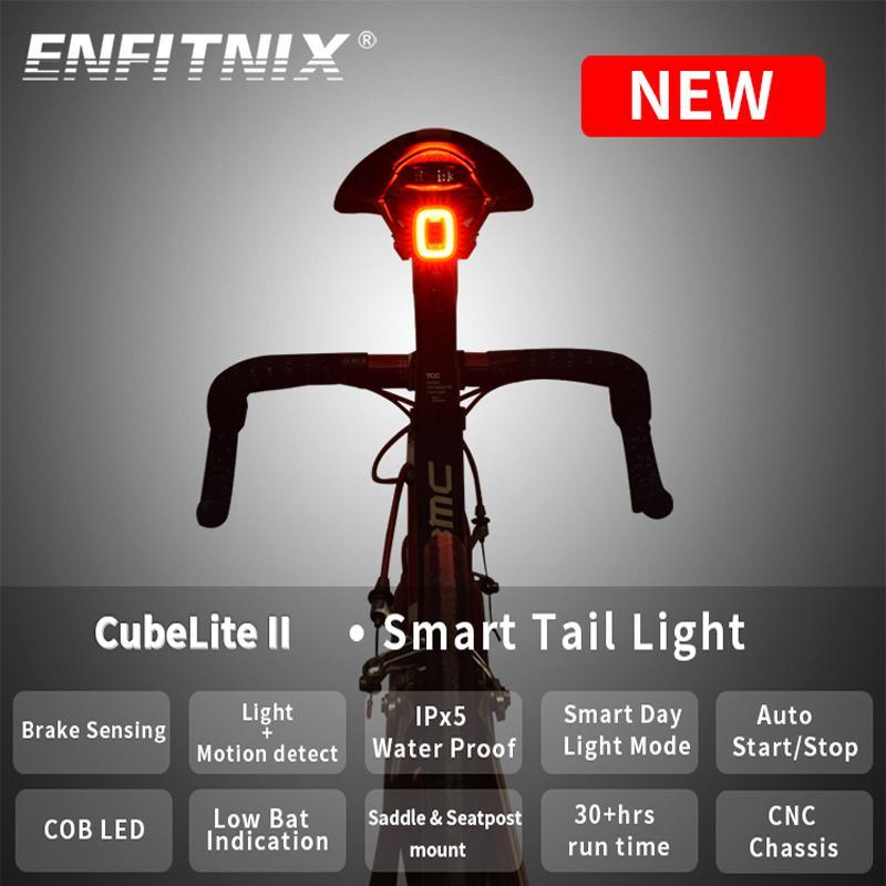 Xlite100 cubeliteii دراجة الضوء الخلفي الذكي الاستشعار الفرامل أضواء usb الطريق الدراجة mtb cubelite2ii الخلفية الذيل ضوء 201023