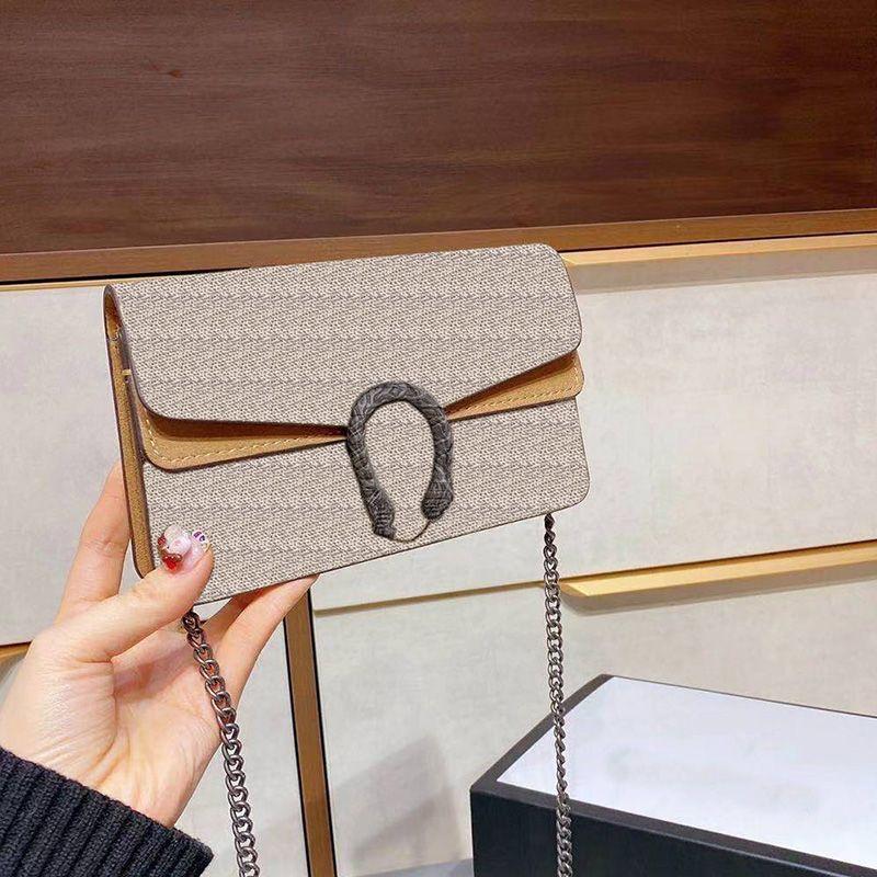Mini clássico retrô senhoras couro marrom 17cm senhoras bolsa bolsa de couro bolsa de couro saco de moda estilhaços