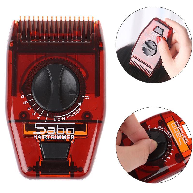 2021 Yeni Mini Kuaför Tarak Saç Fırçası Kuaför Jilet Bıçakları Tıraş Combs Kesme Türbasyon Tarak Araçları