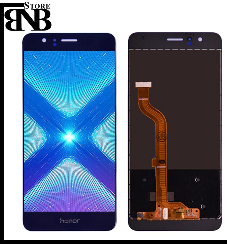 For Huawei Honor 8 LCD Display Digitizer and Touch Screen Glass Panel Assembly frame FRD-L19 FRD-L09