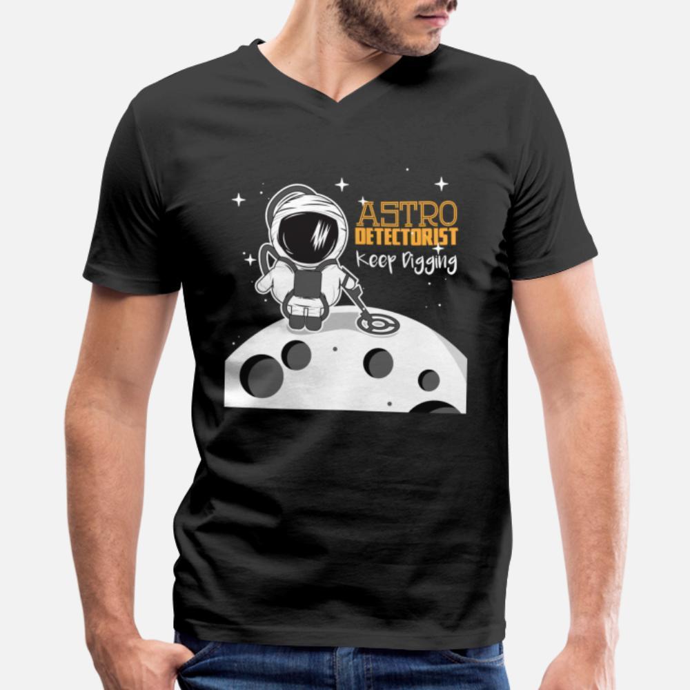 Mond Astronaut detector T-Shirt Fit Einzigartige Sommeranzug Hoodie