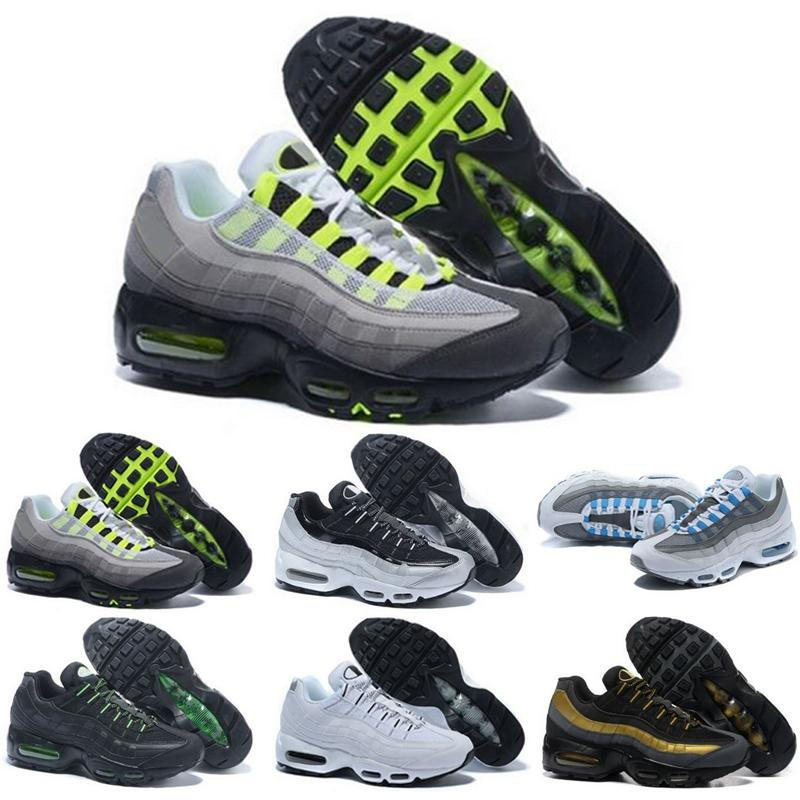 Max 95 2020 Uomini OG Cuscino Navy Sport-alta qualità Chaussure Walking stivali da uomo Scarpe da corsa cuscino scarpe da tennis Taglia 40-46