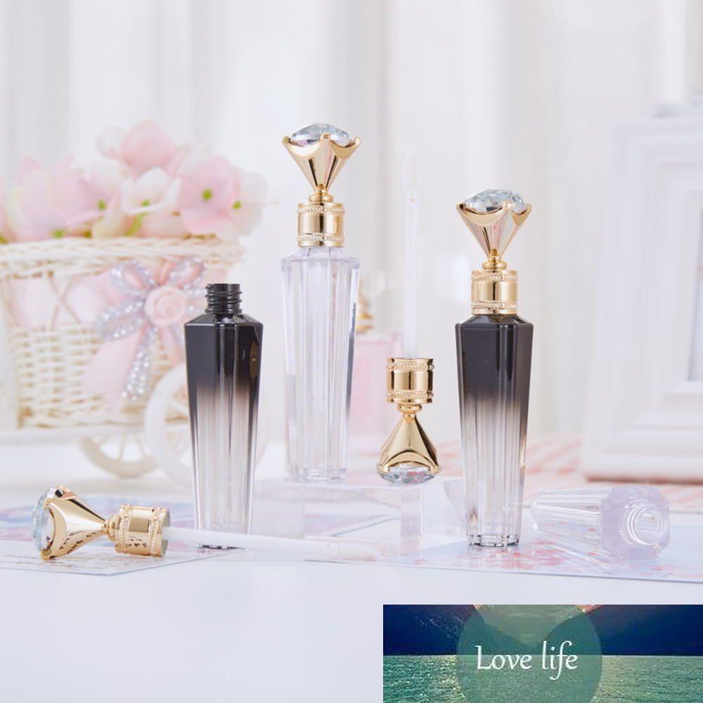 New 3 ml Diamante Cap Plástico Lip Gloss tubo DIY Batom Lip Gloss Containers Garrafa de alta qualidade Esvaziar recipiente cosmético
