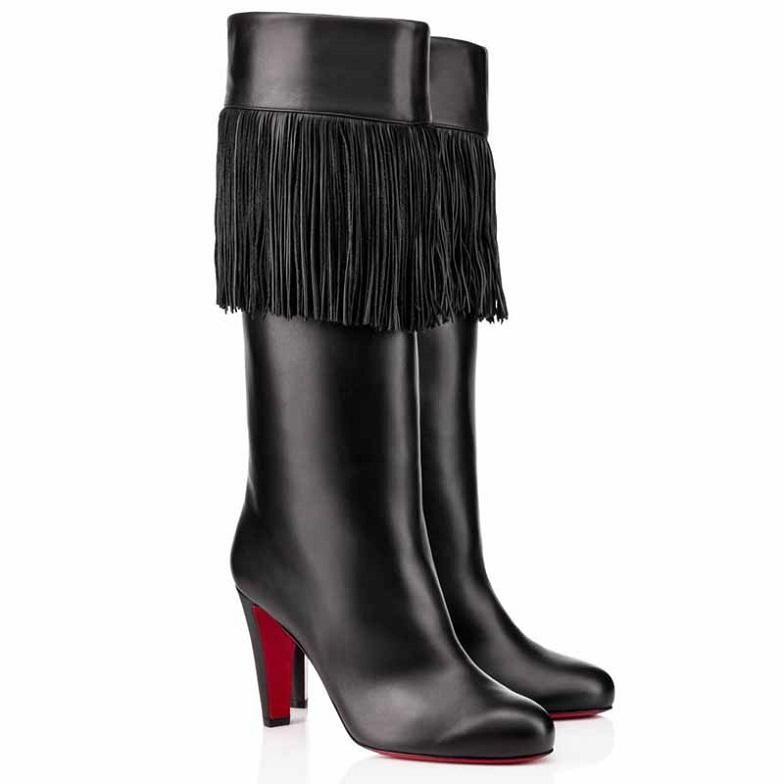 Populaire hiver Majung Booty Haute Qualité Bottines Femmes Bottines Luxe Fond Red Bottes Tall Bottes Élégantes High Heels Heel Fête Robe de mariée EU35-43, avec Bo