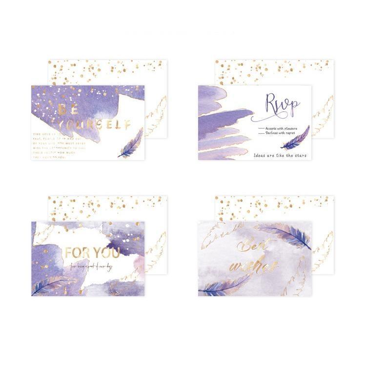 8 pcs/set Creative Sulfuric Acid Paper Envelope Greeting Cards Decoration for Card Wedding Letter Invitation Scrapbooking Gift
