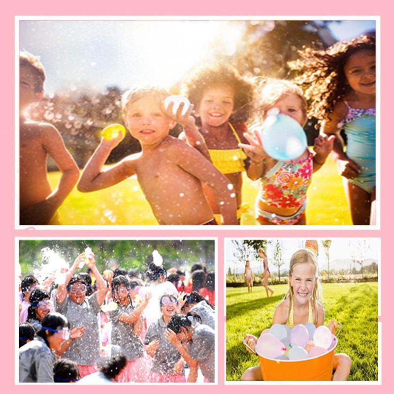 111 adet Su Balon Şaşırtıcı Dolum Sihirli Balon Çocuk Su Savaşı Oyun Malzemeleri Çocuklar Yaz Açık Plaj Oyuncak Partisi 01