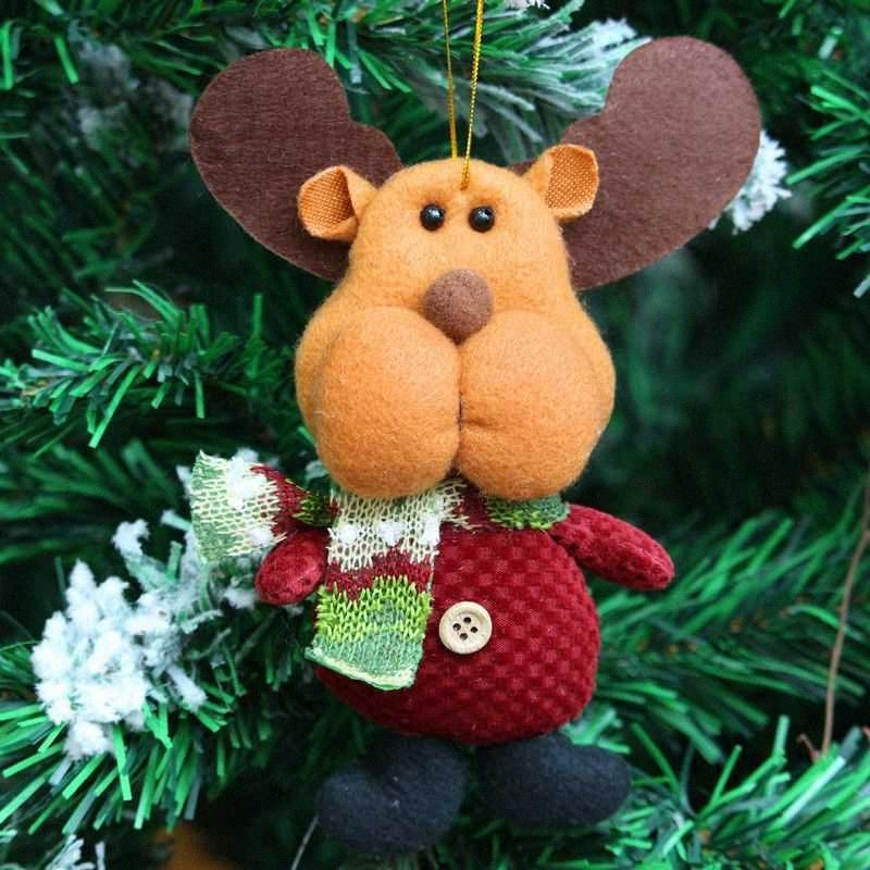 РОЖДЕСТВО Рождественская елка висячие куклы снеговика фестиваль партии Xmas Tree висячие украшения Pandent падения украшения Navidad Jak5 #