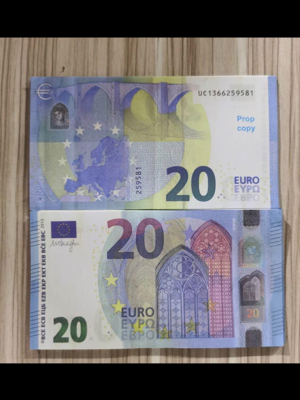 Barprop Faux Billet Gefälschte Nachtculb Movie Play Money Party Kinder Spielzeug 20 50 Euro 100pcs / Packen E251