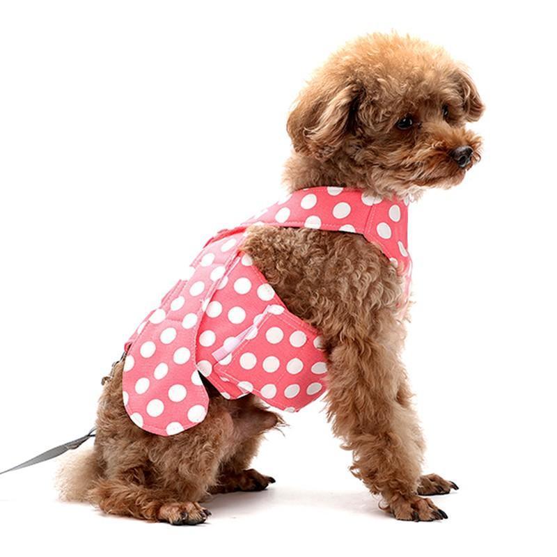 Nouveau produit Type d'avion anti-fuite respirant petit chien poitrine de poitrine de la poitrine corde de cordes de style camisole marche xl chaud chaud. .