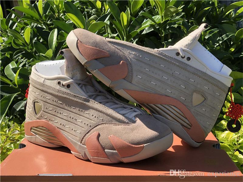 أفضل جلطة حقيقية × 14 منخفضة terra استحى 14 ثانية بني ستون الصحراء الرمال الرجال الأحذية في الهواء الطلق أحذية رياضية ألياف الكربون الحقيقي مع المربع الأصلي