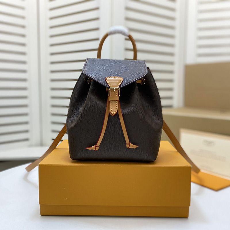 Moda 2021 Yeni M45516 Erkek Kadın Lüks Tasarımcılar Çanta Deri Çanta Büküm Kozmetik Messenger Alışveriş Çantası Omuz Çantaları Tote Sırt Çantası