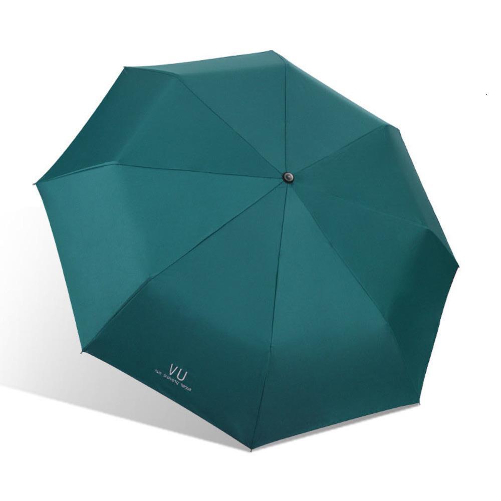 Moda Katlanır Yağmur Kadın Hediye Erkekler Mini Cep Şemsiye Kızlar Anti-UV Su Geçirmez Taşınabilir Seyahat Şemsiye Şemsiye