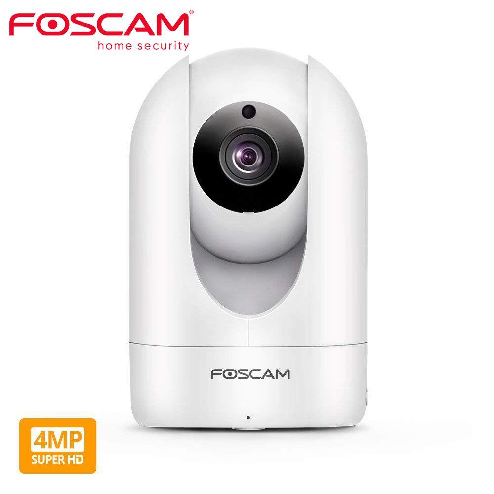 Foscam R4M 4MP Süper HD WIFI Kamera 2.4 g / 5g Wifi Ev Güvenlik Kamera Pan / Tilt Video Gözetim Güvenlik IP Kamera LJ201208